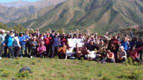 Trekkineros: más de 50 jujeños realizaron la travesía de León a Lozano