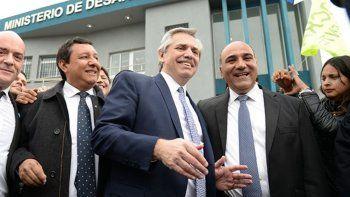 Alberto Fernández se reunió en Tucumán con el gobernador Juan Manzur