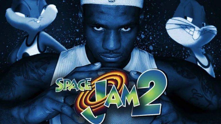 A 23 años de Space Jam, comenzaron a filmar la segunda parte y la estrella será Lebron James