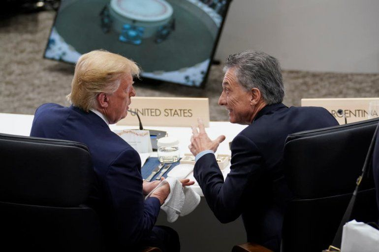 Macri con Trump