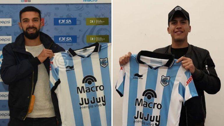 Nahuel Zarate y Ezequiel Gallegos ya son jugadores de Gimnasia