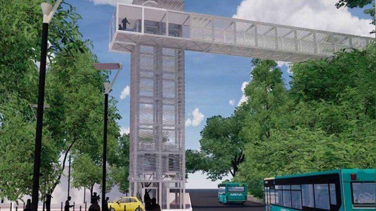 Ascensor urbano en San Salvador de Jujuy: en los próximos días inciarían las obras