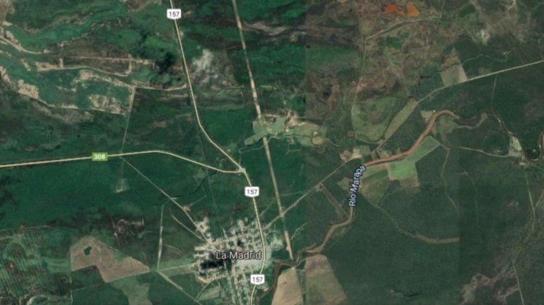 Así es el cruce de rutas donde volcó el colectivo y murieron 13 personas