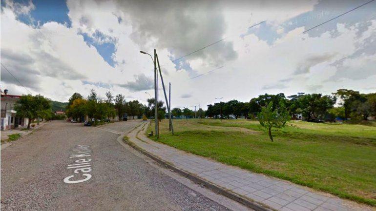 Iluminan, pavimentan y mejoran el recorrido de colectivos en Coronel Arias