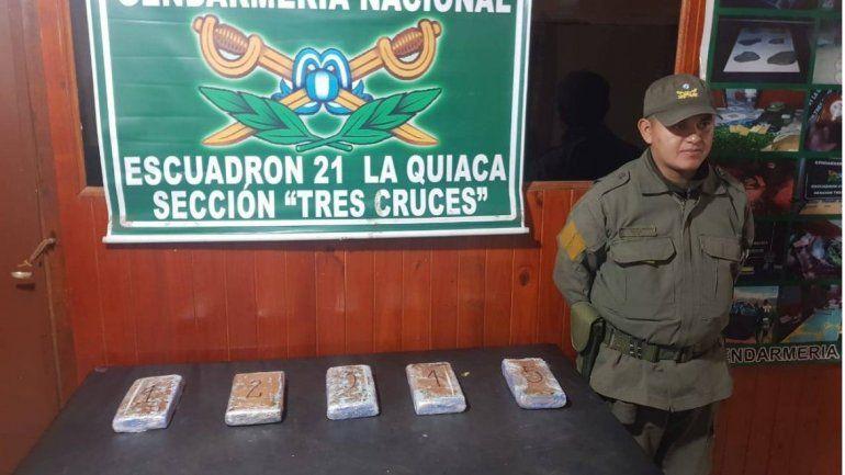 Entre paneras descubrieron 5 kilos de cocaína de máxima pureza