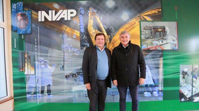 Morales en el INVAP: avanza el proyecto de construcción de una central termosolar en Cauchari