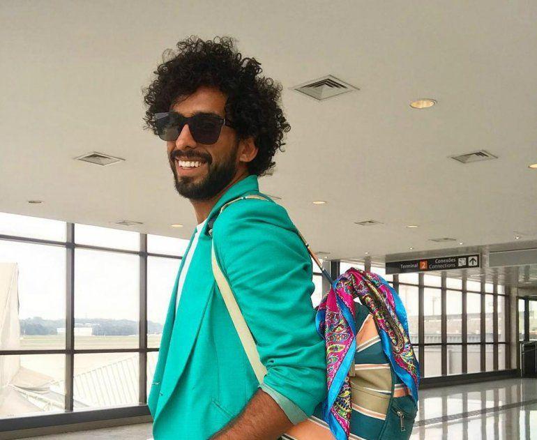 Gabo Usandivaras fue demorado en un aeropuerto por tenencia de marihuana