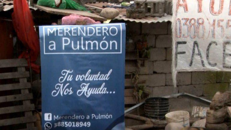 Campaña solidaria para ayudar al Merendero a Pulmón