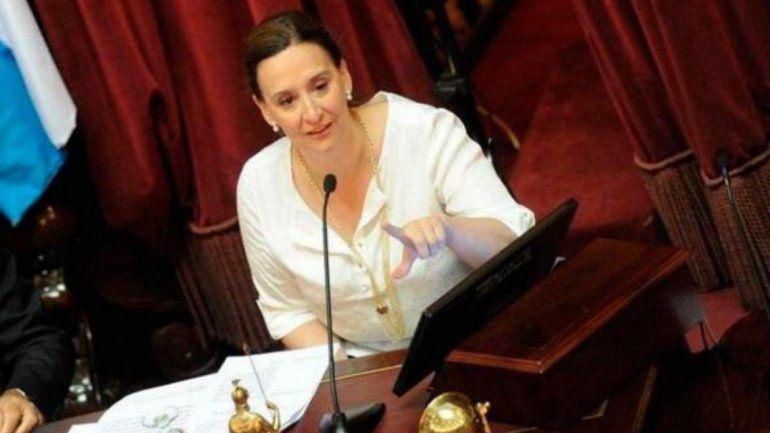 Gabriela Michetti eliminó el canje de pasajes por dinero en el Senado