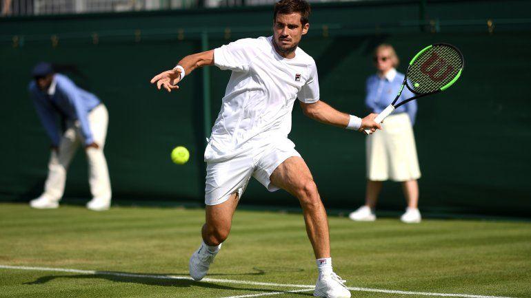 Triunfazo de Guido Pella en Wimbledon para seguir en carrera
