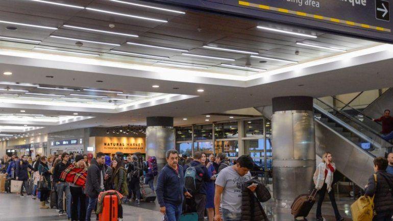 Vuelven a la normalidad los vuelos de Aeroparque y Ezeiza