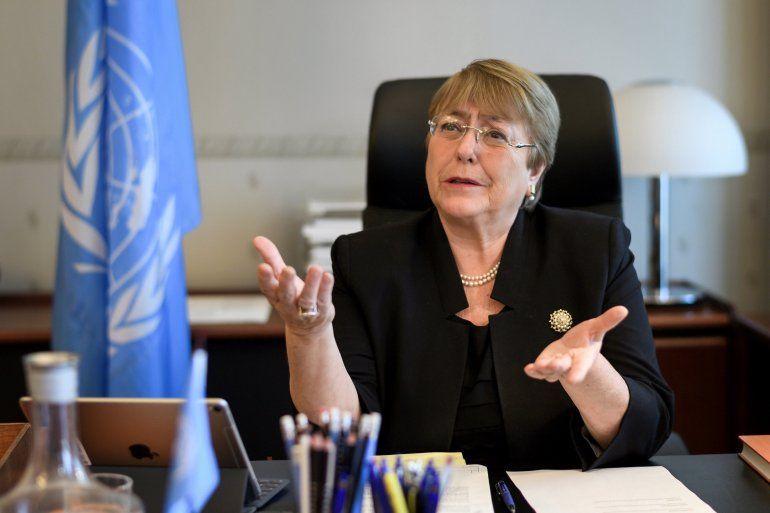 Michelle Bachelet habló ante a la ONU sobre la violación de los DD.HH. que sufren en dicho país