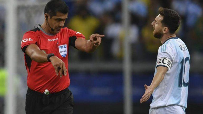 Lionel Messi pidió disculpas formalmente a la Conmebol