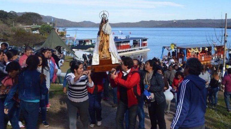 La Virgen del Carmen recorrerá los espejos de agua de Las Maderas y La Ciénega