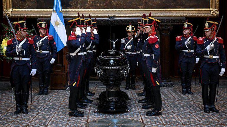 Despidieron al expresidente Fernando de la Rúa en el Congreso Nacional
