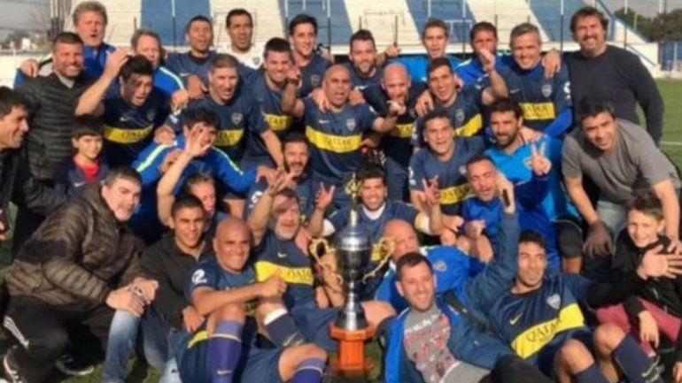 Boca le ganó a River y se consagró campeón en la Copa Argentina de Veteranos