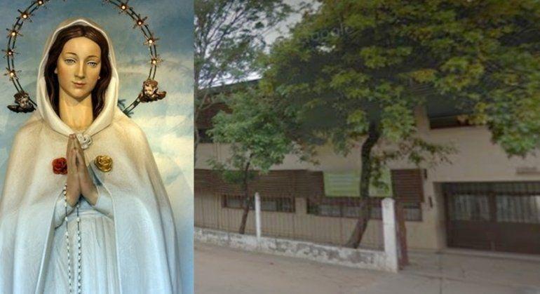 Polémica en Corrientes: una directora hizo sacar la imagen de la Virgen de una escuela