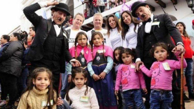 La fiesta de los mellizos crece año tras año en la localidad tucumana de Famaillá
