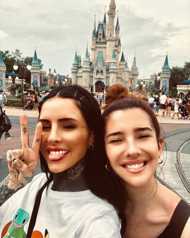 Cande en Disney