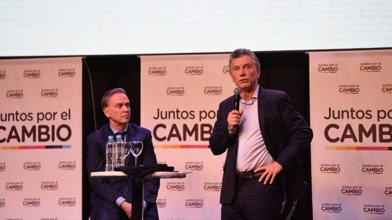 Macri junto a Pichetto encabezaron la cumbre de Juntos por el Cambio