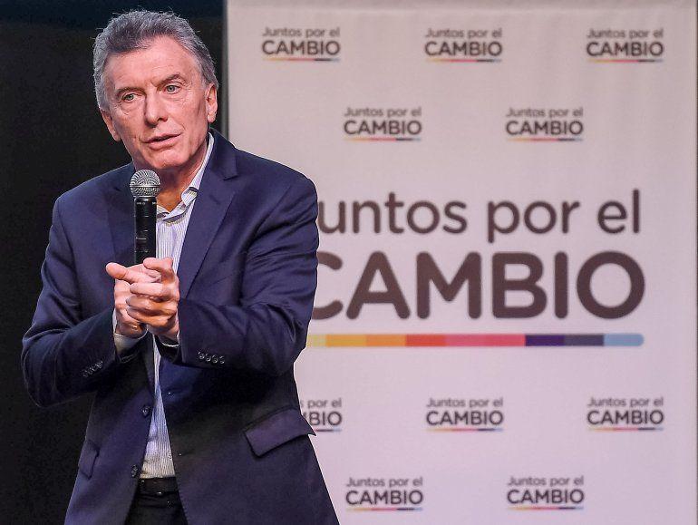 Macri aseguró que la fórmula Fernández-Fernández son la destrucción del futuro para los argentinos