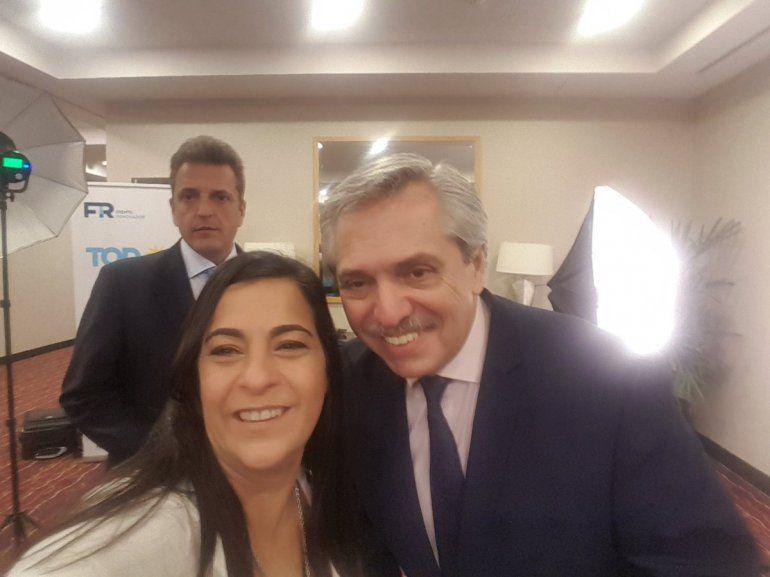 Confirman que Carolina Moisés será la única que llevará la boleta de Fernández - Fernández