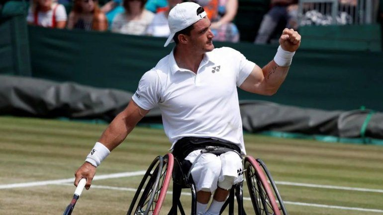 El cordobés Gustavo Fernández llegó a las semifinales de Wimbledon