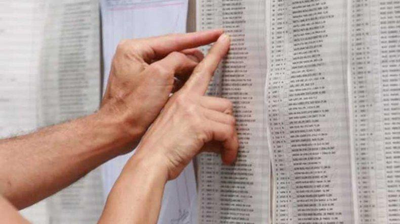 Consultá el padrón definitivo y enterate dónde votás en domingo
