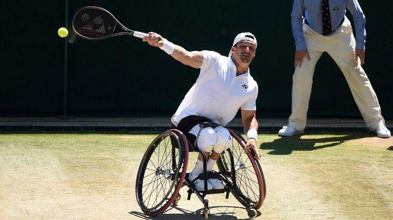 Gustavo Fernández lo hizo otra vez: ganó y jugará la final de tenis adaptado