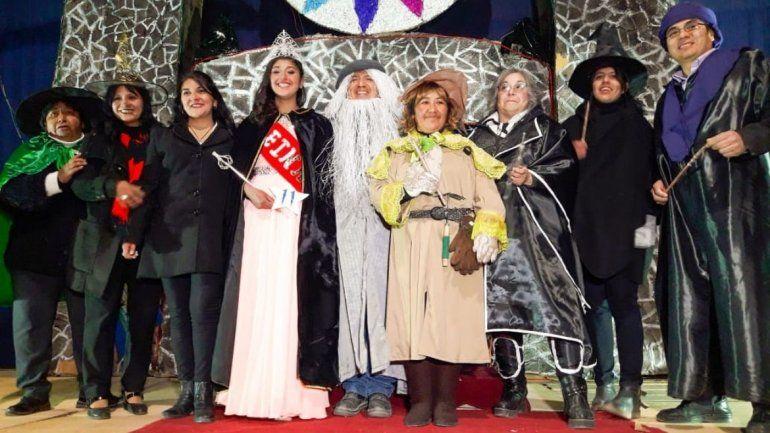 Una elección reina estilo Hogwarts en Abra Pampa: Camila es la nueva reina del Poli 22