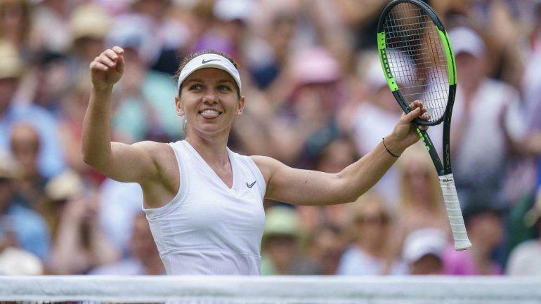 Simona Halep conquistó Wimbledon y privó a Serena Williams de alcanzar un récord
