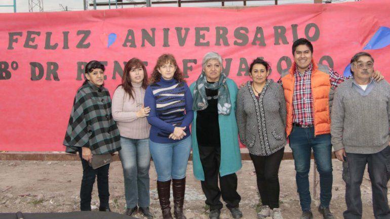 A puro festejo: los vecinos del Barrio René Favaloro celebraron el 2º aniversario