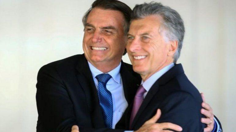 Bolsonaro criticó a Alberto Fernández y ratificó su apoyo a Macri