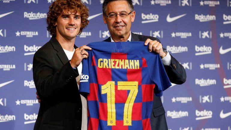 Griezmann fue presentado en Barcelona: qué número llevará en la camiseta y la frase que causó sorpresa