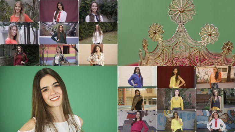 Ellas son las 38 reinas colegiales coronadas en la primera parte del año