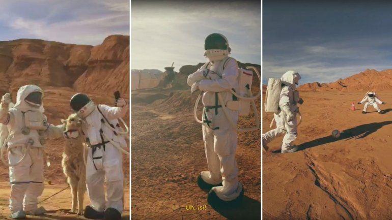 Sentite en Marte en la Puna, la nueva campaña de promoción internacional con imágenes de Jujuy