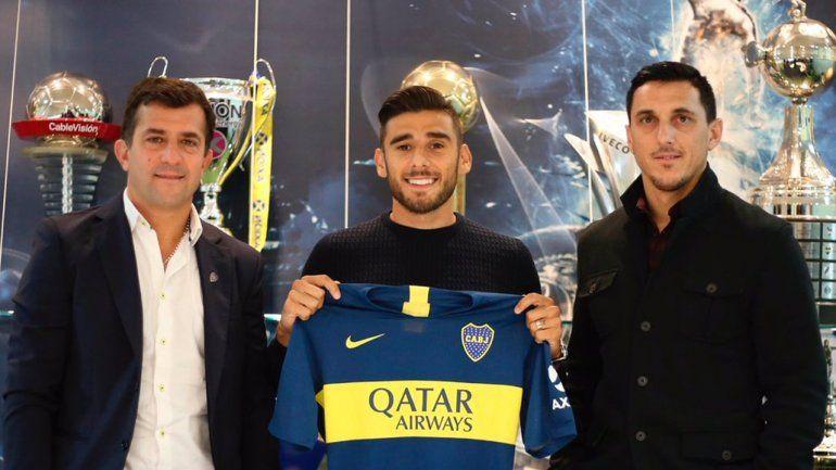 Salvio firmó su contrato y es nuevo refuerzo de Boca