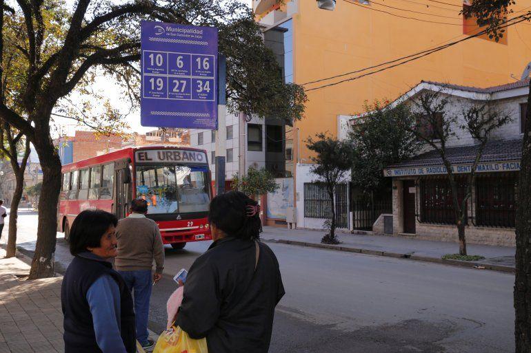 Viernes de paro de transporte: los colectivos circulan con guardias mínimas
