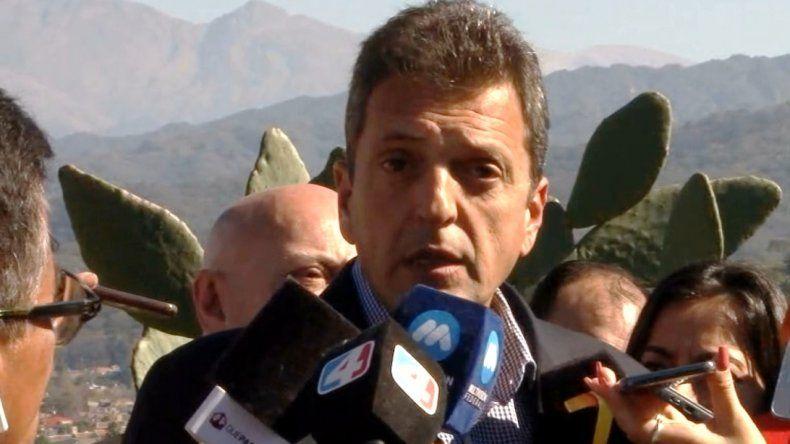 Sergio Massa en Jujuy: La política económica del gobierno de Macri fracasó