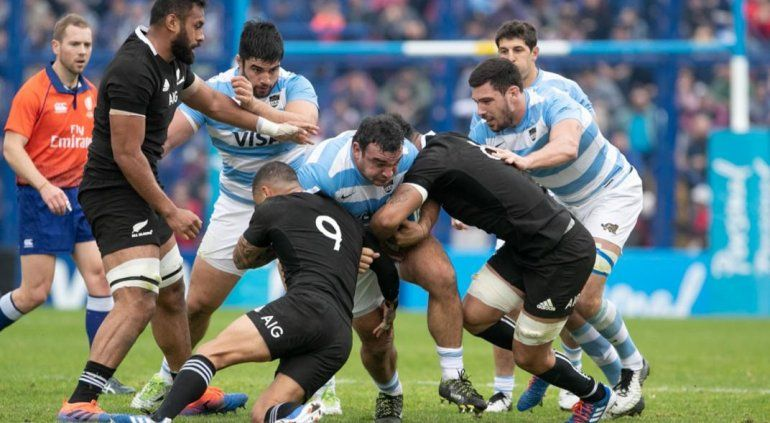 Los Pumas perdieron con los All Blacks