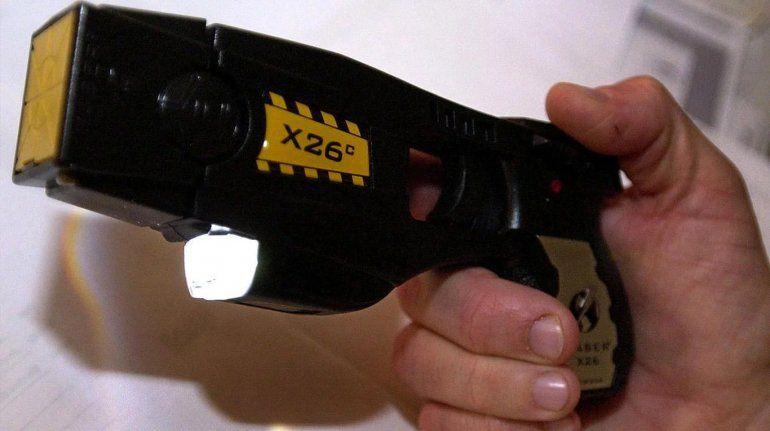 Se compraron las primeras 100 pistolas Taser y costaron $5 millones de pesos