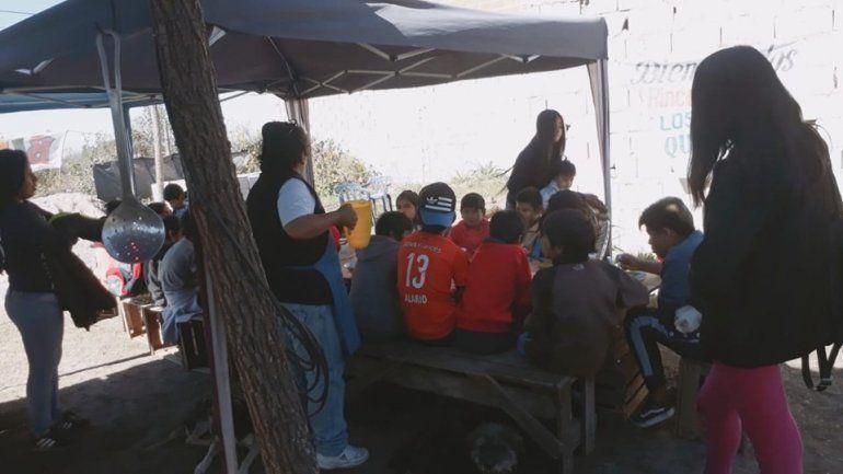 Comedor de Palpalá necesita sillas, mesones y alimentos no perecederos