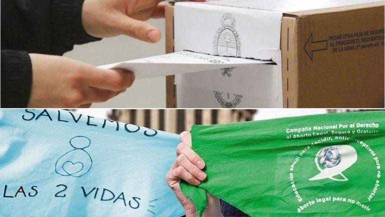 En Jujuy ningún partido político pidió usar pañuelos verdes o celestes en las boletas