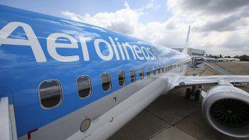 Nueve heridos en un accidentado viaje de Aerolíneas Argentinas