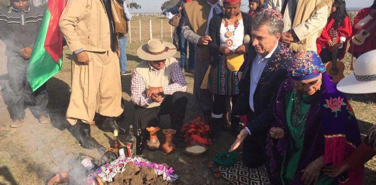En campaña Macri visitará Jujuy para celebrar el día de la Pachamama