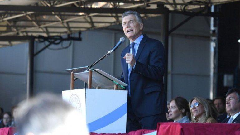 Las retenciones se tienen que terminar dijo Mauricio Macri en la Exposición Rural