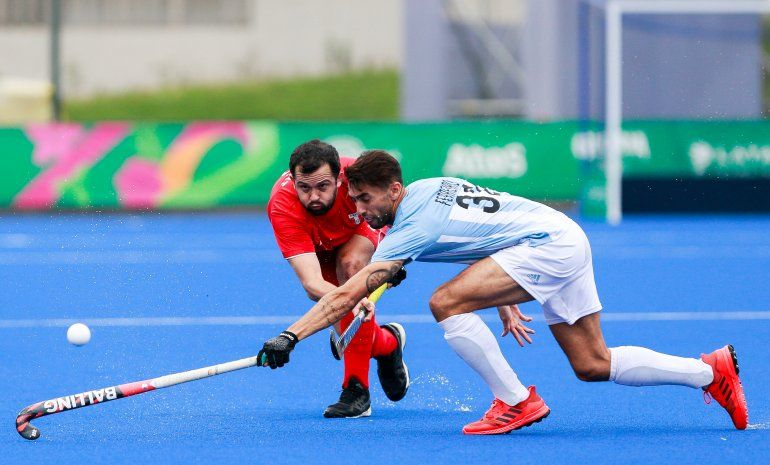 Seleccionado de hockey clasificado a cuartos: Los Leones se impusieron a Perú