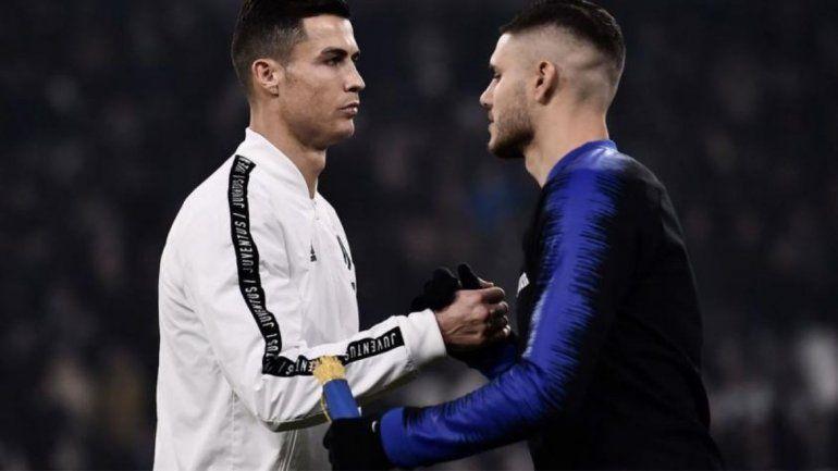 Mauro Icardi podría llegar a la Juve de Cristiano Ronaldo