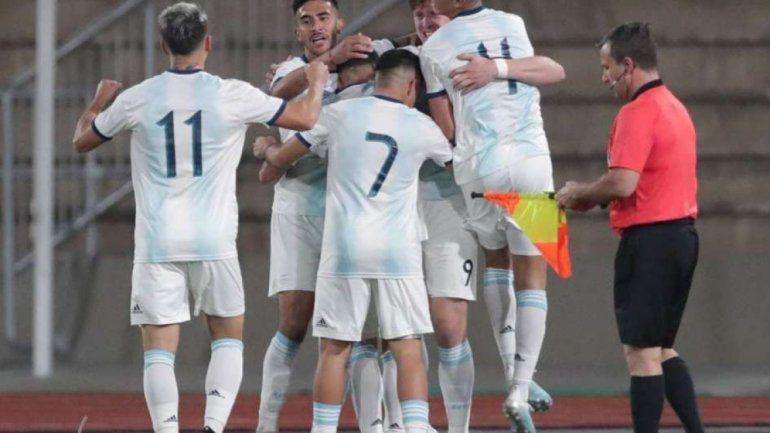 Argentina goleó 3 a 0 a Uruguay y se metió a la final de los Panamericanos