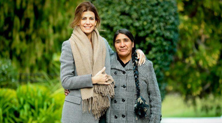 Juliana Awada recibió a Rosario Quispe, líder social de la Puna jujeña